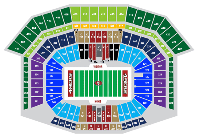 Official Levi S Stadium Sbl Marketplace Read About Sbls